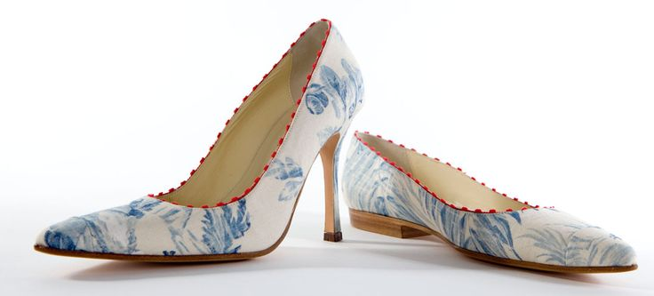 Matching Highs and Lows: The Victoria Shoes