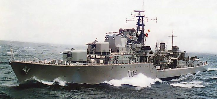 HMAS Voyager...  Early 1960's
