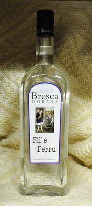 Prodotti tipici sardi :: Grappe e Filu 'e Ferru :: :: Fil'e Ferru - BRESCA DORADA :: BONU.IT - Cesti Natalizi, Prodotti Tipici Sardi Vini, liquori, dolci sardi e specialità della Sardegna