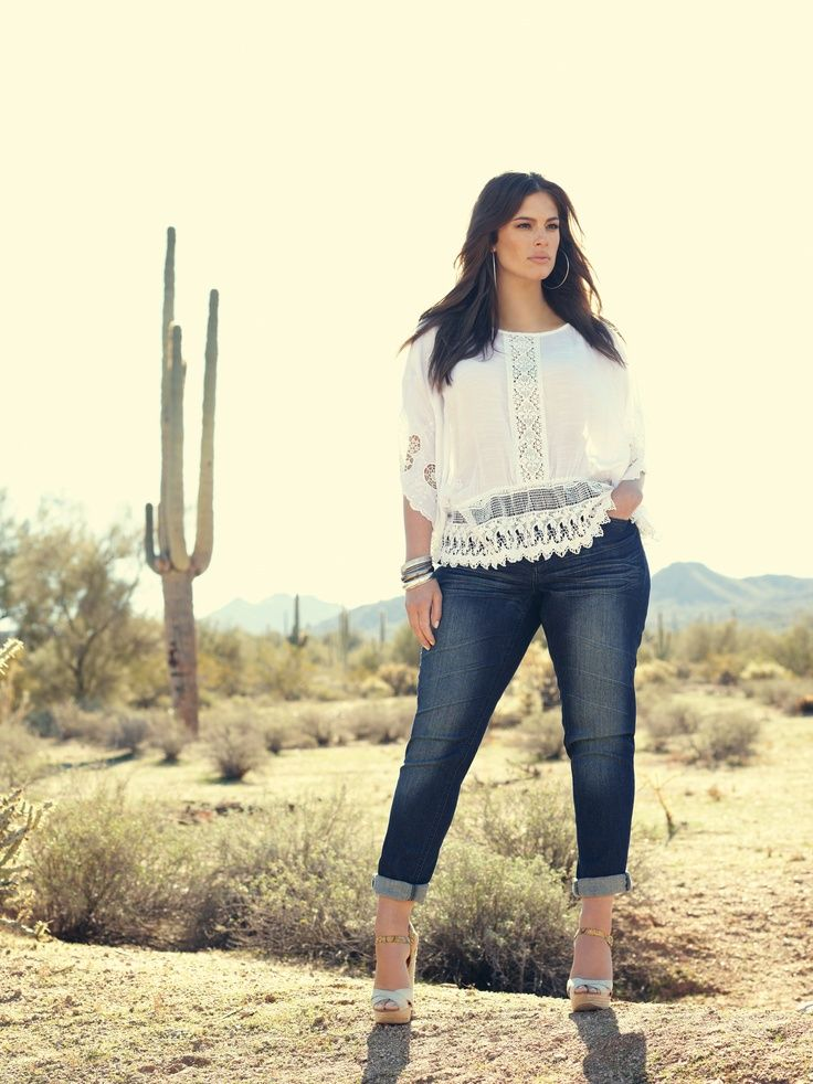I like this, but for me the heals would have to go in the desert! JC Top 10 Style Tips for Plus Sized Women