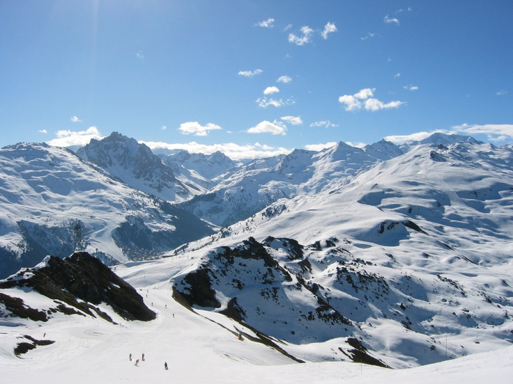 Meribel. Ski at its best  Visit: http://www.elegant-ski.com//ski-resorts/ski-resort.asp?LocationID=21
