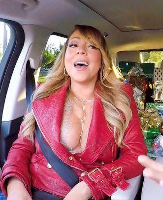Le décolleté de Mariah Carey vous souhaite un joyeux Noël   Le Figaro Madame