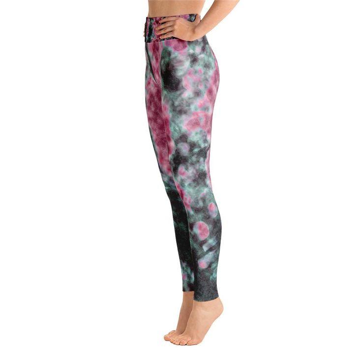 Smoky Pink Yoga Leggings