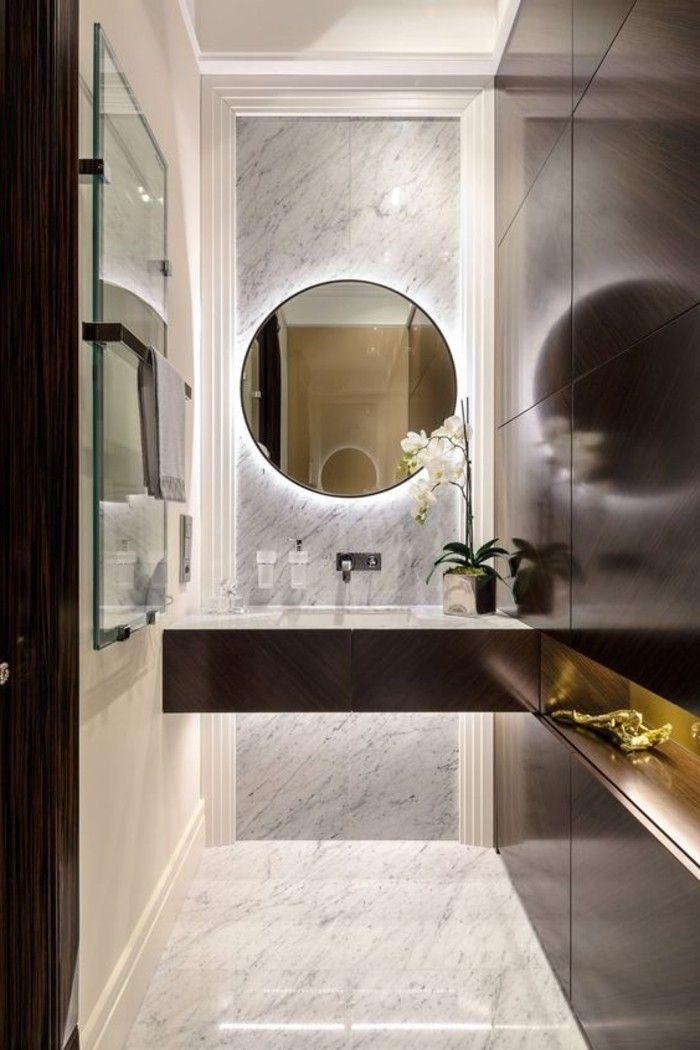 Ou Trouver Le Meilleur Miroir De Salle De Bain Avec Eclairage Archzine Fr Salle De Bain Design Miroir De Salle De Bain Salle De Bains Contemporaine