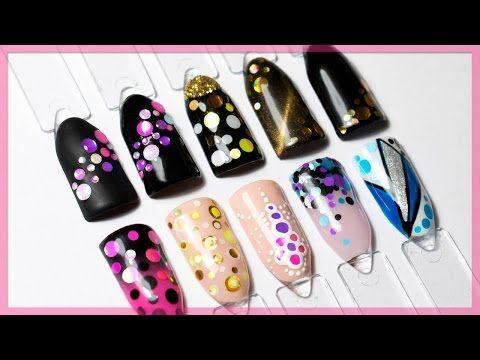Дизайн ногтей с камифубуки   Популярный дизайн 2017 - YouTube