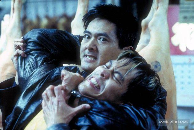 The Corruptor - Publicity still of Chow Yun-Fat & Byron Mann