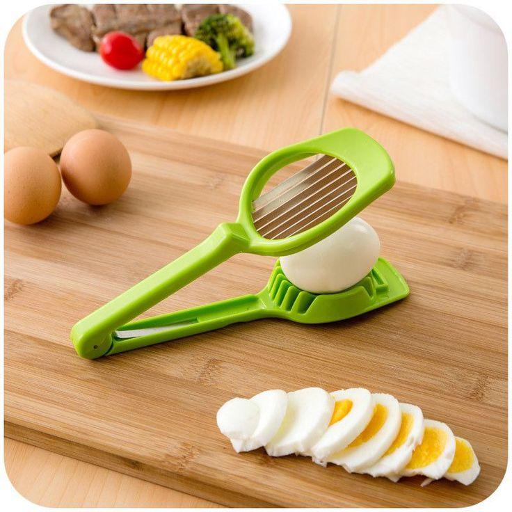 Superior Easy Plastic Egg Slicer New Kitchen Gadgets
