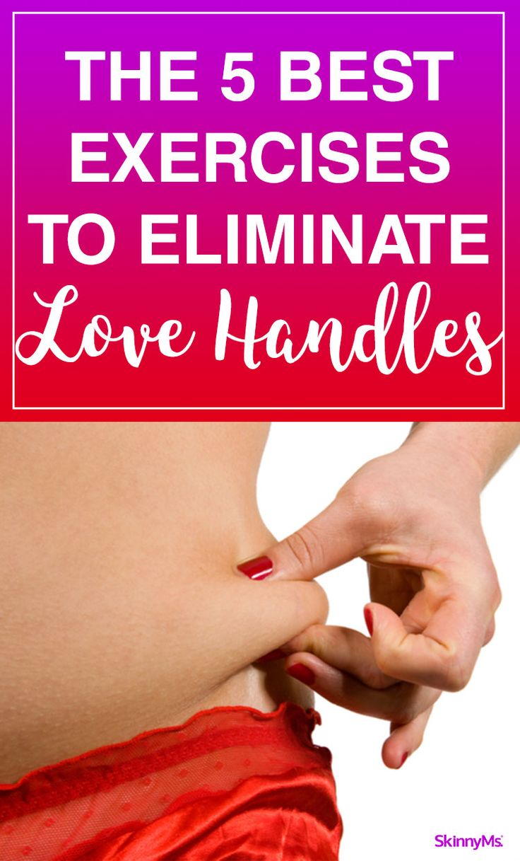 The 5 Best Exercises to Eliminate Love Handles