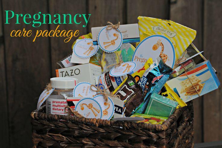 Make a Pregnancy Care Package Basket