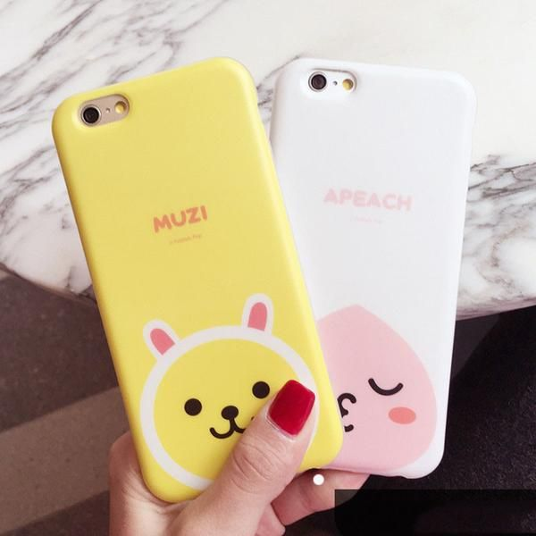 Cute cartoon characters High quality transparent TPU materials Compatible for iPhone 4/5/6/6plus   Please check out our other Korean cartoon phone case HERE