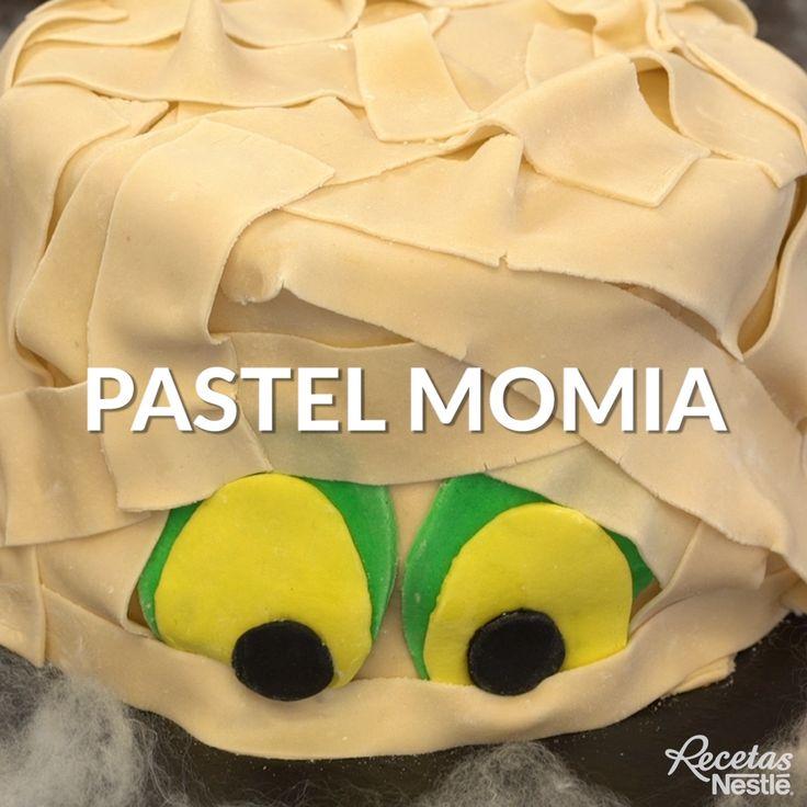 ¡Este #PASTEL #MOMIA 🧟♀️ sólo salió de su tumba para ir a tu fiesta de #HALLOWEEN !🥳 ¡Prepáralo!🙌 Just Do It, Deserts, Cooking Recipes, Sweets, Videos, Food, Gastronomia, Cake Recipes, Meals