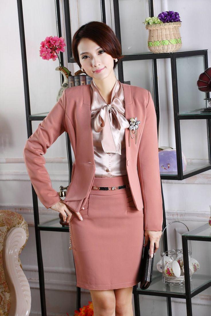 6835105 | Trajes para Mujeres- Oficina | Fashion, Fashion ...