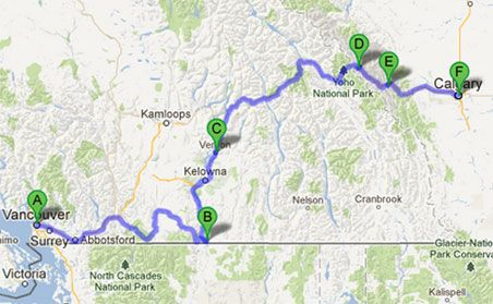 british-columbia-road-trip and other great Canadian road trips
