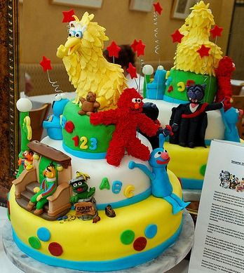 We Have Great Sesame Street Party Ideas For Planning A Birthday Including Cakes And Supplies