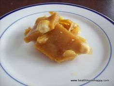 Honey Macadamia Brittle (good recipe for intolerances)