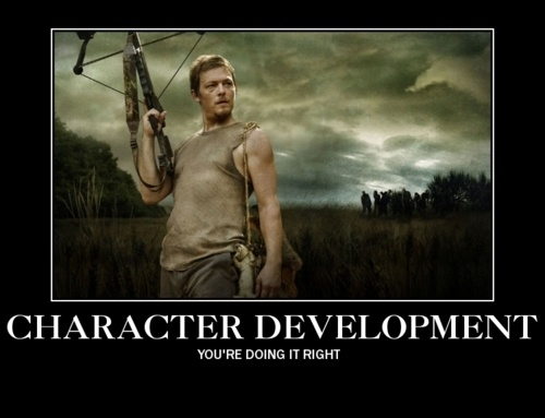 Daryl Dixon: The Walking Dead: Zombies Apocalyp, The Walks Dead, Norman Reedus, Daryl Dixon, The Walking Dead, Movie Tv, Darryl Dixon, Funny Memes, Character Development