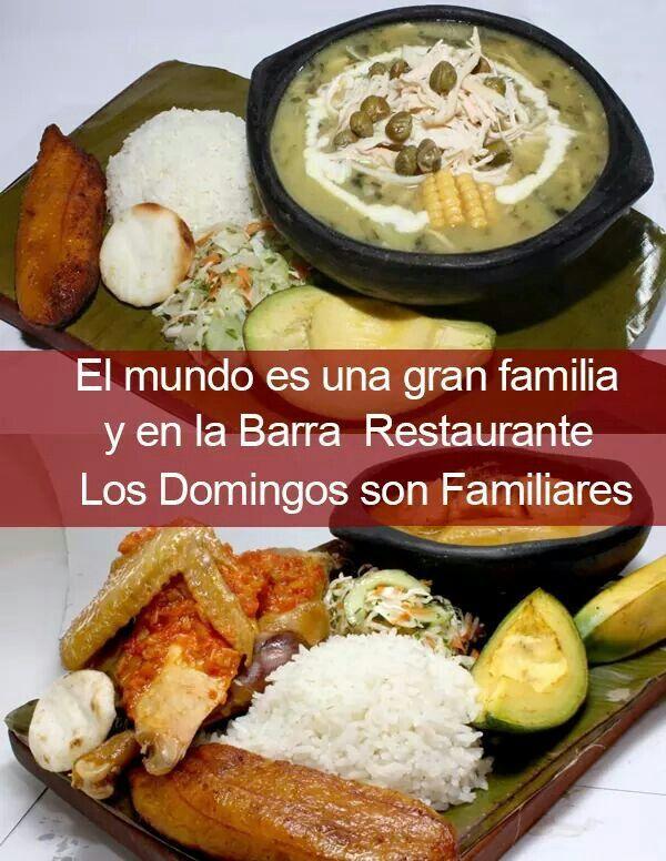 Sancocho de Gallina y de Pollo #Cali #Calico #Turismo #Gastronomía http://ow.ly/U2hc300rS1D Ajiaco #Cali #Turismo #Gastronomía http://ow.ly/vhyM300rS2Y LA BARRA SUR Carrera. 66 Calle. 12 Esq.  3125929 // 311-7677977.  Barrió El Limonar LA BARRA NORTE Av. 3N Calle. 47 Esq.  6645391 // 317-3782614.  Barrió La Merced