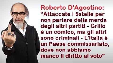 il popolo del blog,notizie,attualità,opinioni : Roberto D'Agostino votera' NO al referendum del 4 ...