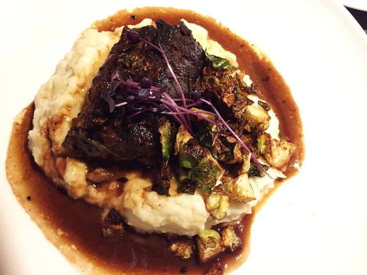 Nothing Short About These Braised Short Ribs From The Menu Of A Brand New  American New Cuisine Restaurant In Silver Spring, DCu0027s City Like Suburb.