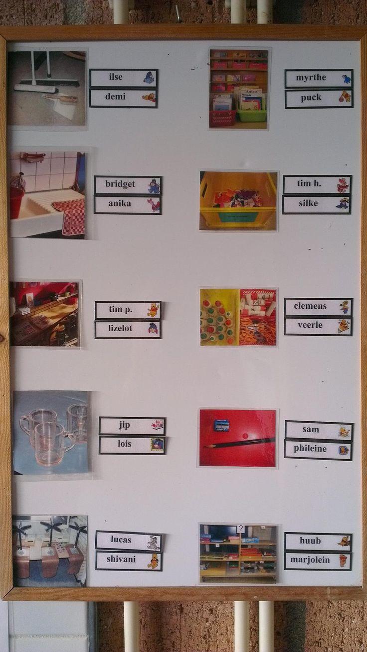 Onderwijsgek: Gezien: klassentakenbord in ...