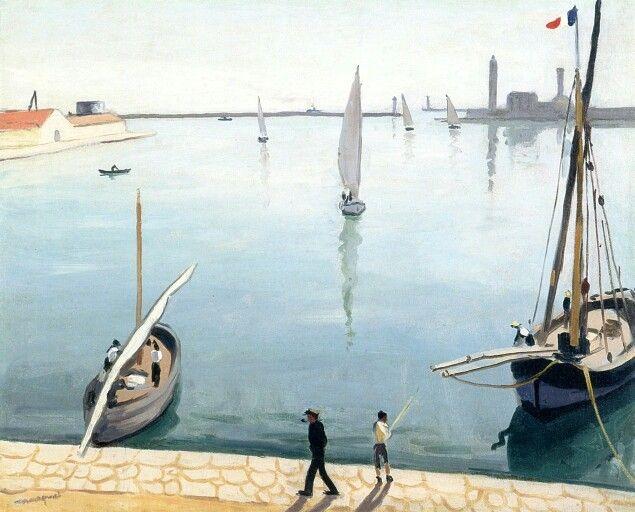 The Port of Sete Albert Marquet - 1924