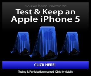 Be first to test & keep Apples New iPhone 5!