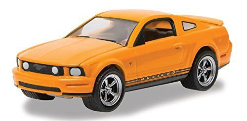 2009 Ford Mustang Grabber Orange Mustang 45th Anniversary Collection 1/64 by Greenlight 27850 B