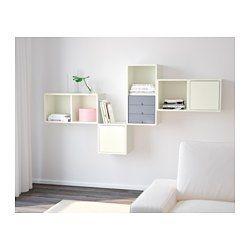 IKEA - VALJE, Wandschrank mit 2 Türen, , Durch Kombinieren von Elementen in verschiedenen Maßen, mit oder ohne Türen und Schubladen entstehen individuelle Möbel.Lässt sich leicht und schnell montieren dank der Holzdübel, die in die vorgebohrten Öffnungen geklickt werden.Produkte der PALLRA Serie passen perfekt und optimieren die Aufbewahrung auf dekorative Art.