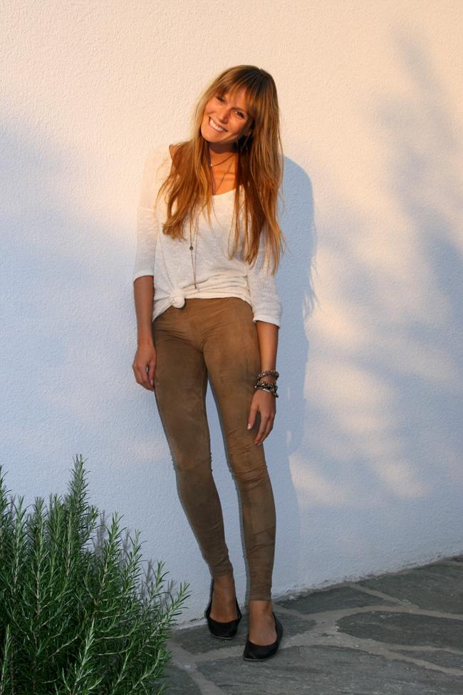 camel leggings