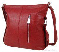 Červená crossbody kabelka MAHEL 67-MH