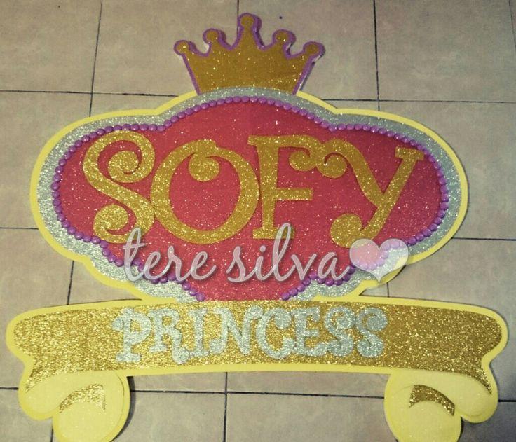 Letrero princess