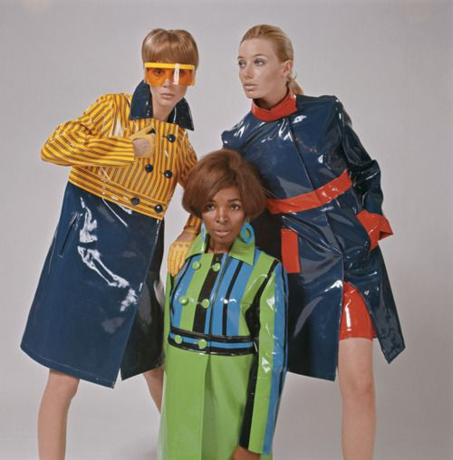 Pierre Cardin 1960s - loved these kind of coats, but they were hot and sticky
