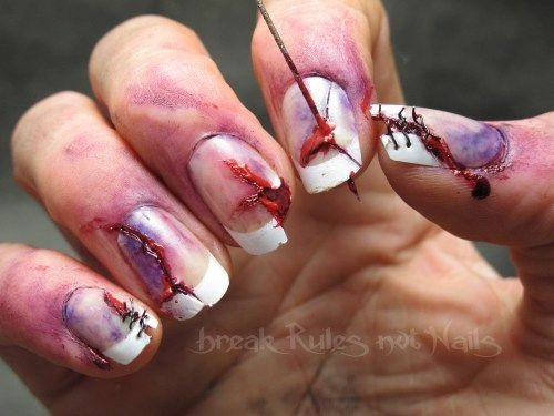 The only thing I love more than zombie nails is zombie snails.