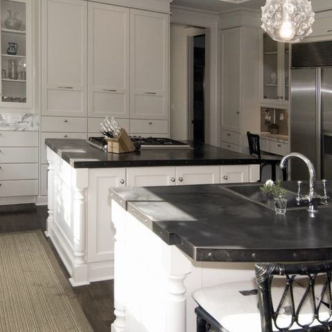 17 best zinc countertops images on pinterest kitchens for Zinc kitchen countertop