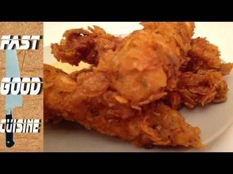 Comment faire les Crispy Tenders de KFC | FastGoodCuisine