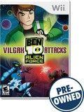 Ben 10 alien Force: Vilgax attacks — PRE-Owned - Nintendo Wii