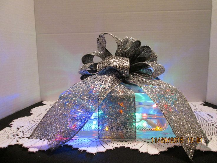 91 best images about glass block crafts on pinterest for Clear glass blocks for crafts