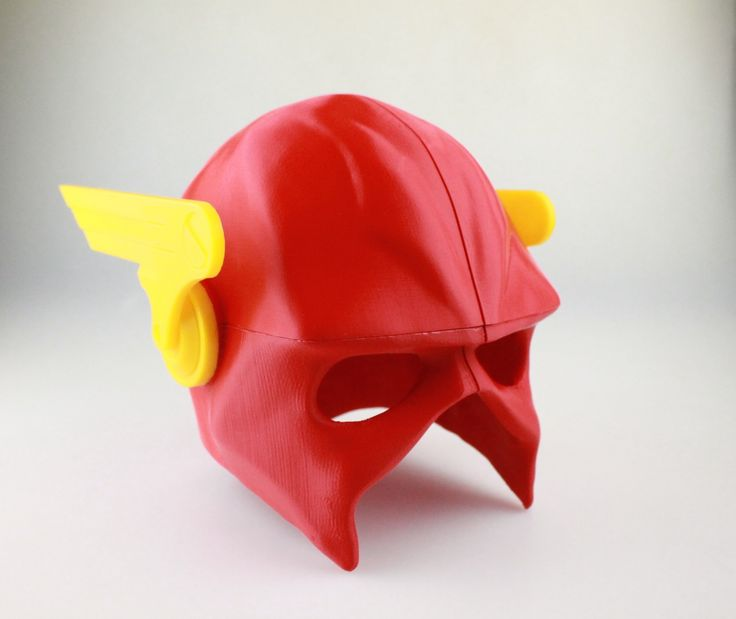 3D Printable The Flash Helmet - Wearable    by Valentin Lheureux  #3dprinting #3design #3dprinted #myminifactory #3dprinters #3dfilament #download #design #3dobject