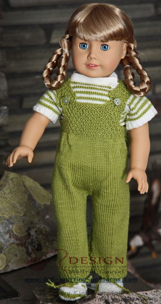Nice everydays clotehes in green and white to Baby borne, American doll girl