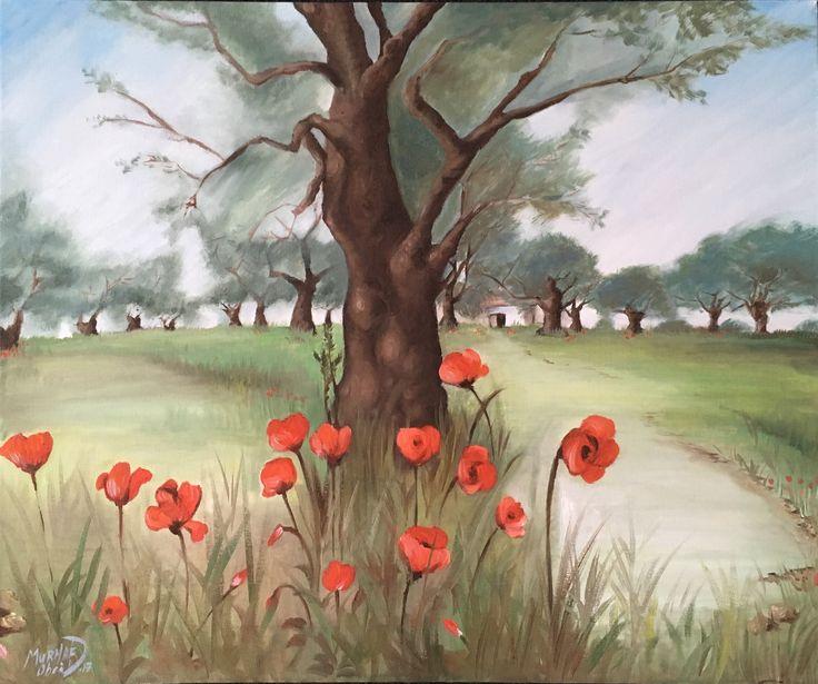 Oil painting 50*70cm