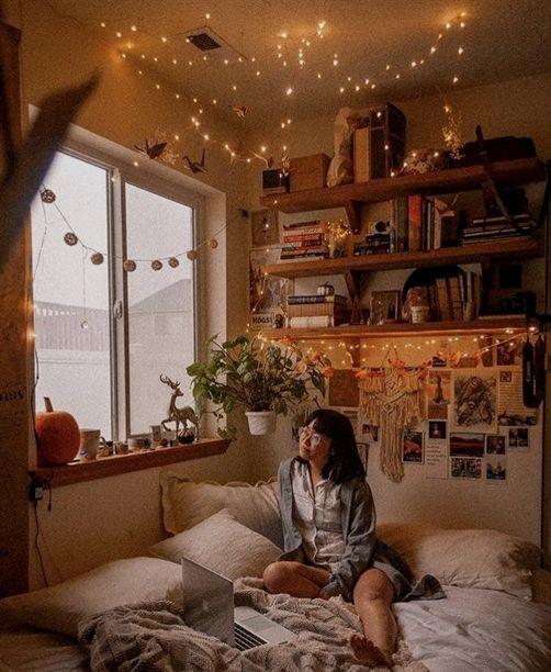 𝐩𝐢𝐧𝐭𝐞𝐫𝐞𝐬𝐭 // 𝐤𝐞𝐝𝟗𝟓𝟓 ♡ #CozyBedroom