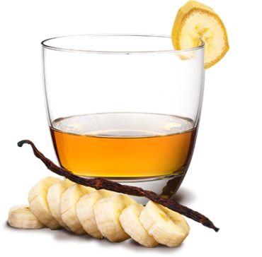 Cocktail Rhum banane vanille au miel