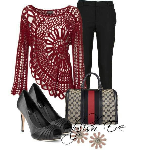 Beautiful Lacey flowing blouse