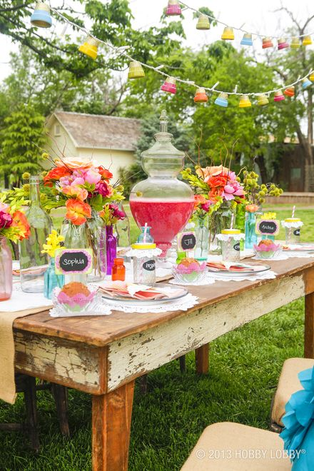 Plan a summer get together in your very own backyard oasis!
