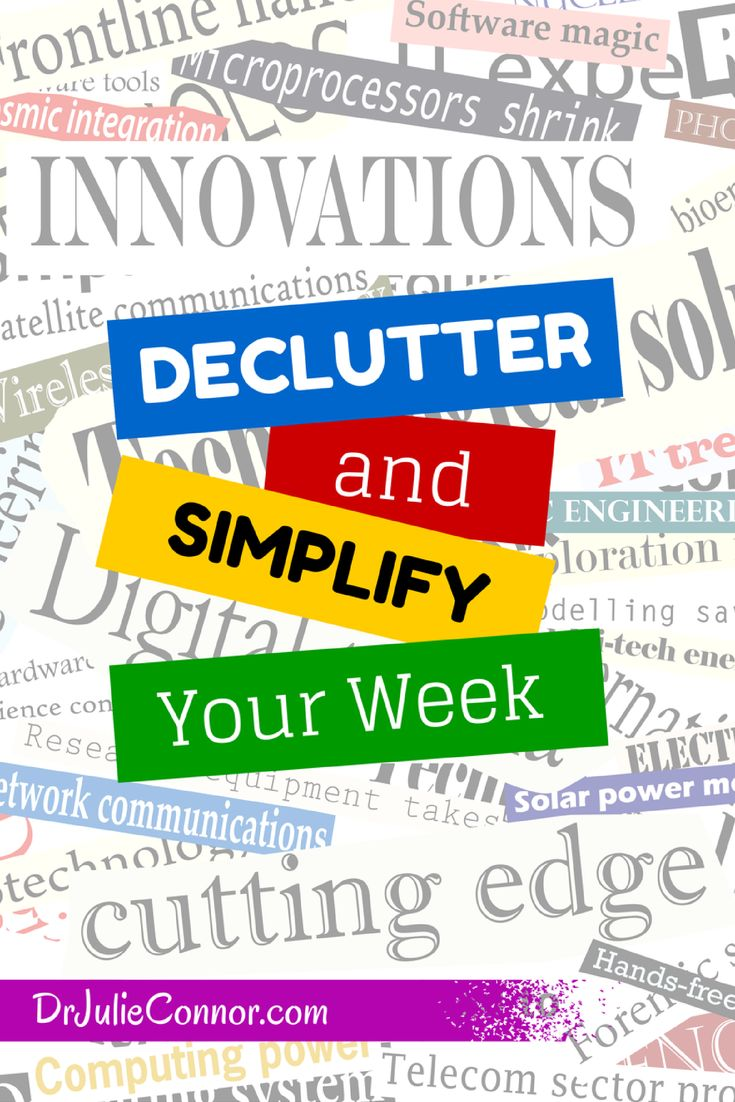 """Is clutter complicating your life? Check out these tips to """"Declutter & Simplify Your Week,' https://www.linkedin.com/today/post/article/20140825173041-14809800-declutter-and-simplify-your-week?trk=prof-post"""