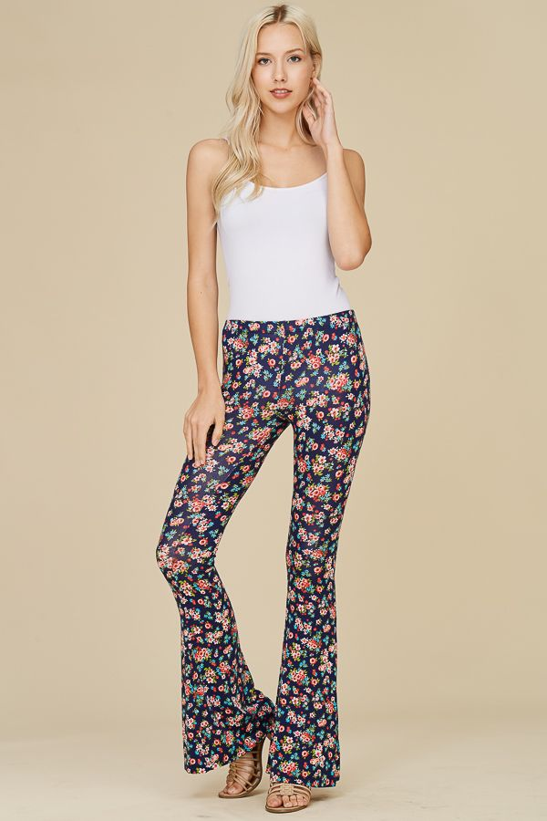FLORAL BELLBOTTOMS