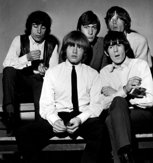 The Rolling Stones, 1964. Ian Wright.