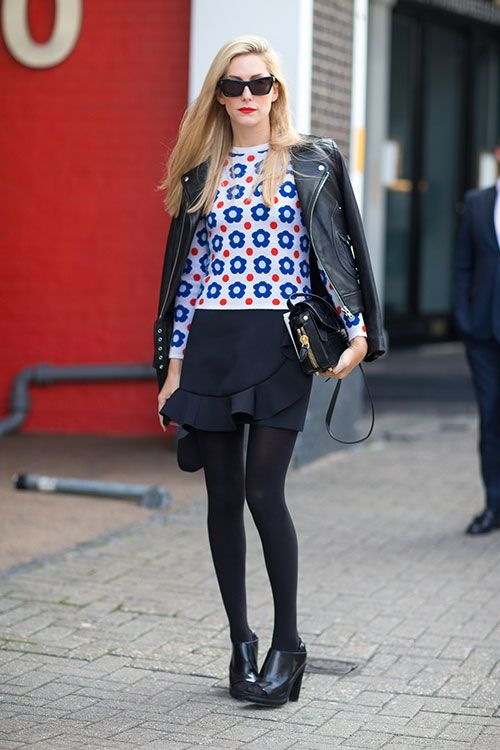Street Style London Fashion Week Street Spring 2014 Fashion Weeks J W Anderson And Spring