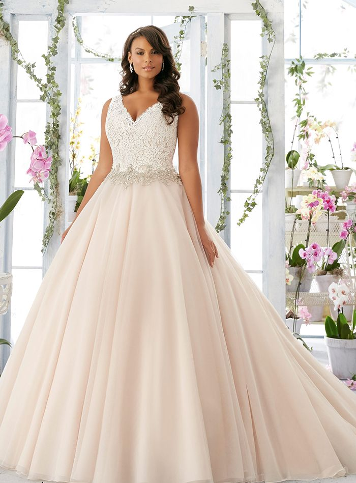 Vestidos para noivas plus size - baile