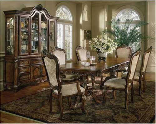 $2,000.00 FRENCH PROVINCIAL 7PC DINING ROOM TABLE SET FURNITURE: Pedestal Table, 2 Arm Chairs and 4 Side Chairs     Get it here: http://astore.amazon.com/ffiilliipp-20/detail/B000Q6OD7E/179-5632002-0021610